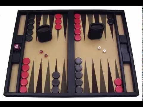 Backgammon Spielbrett