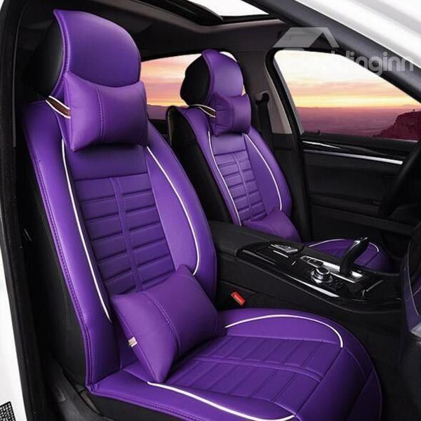 Charming And Magic High Quality Popular Universal Car Seat Cover Purple Car Purple Jeep Jeep Wrangler Accessories