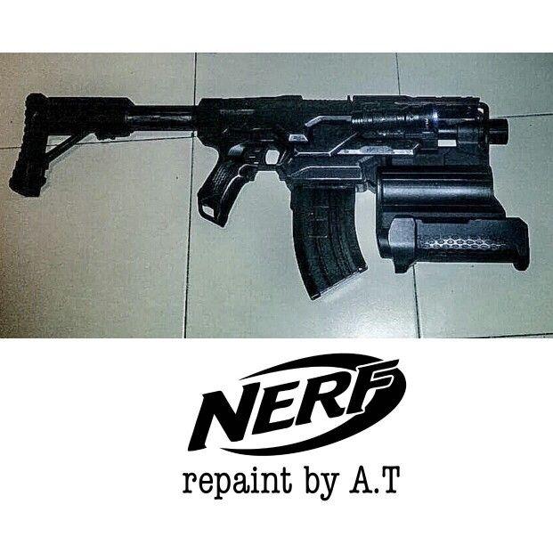 nerf demolisher repaint