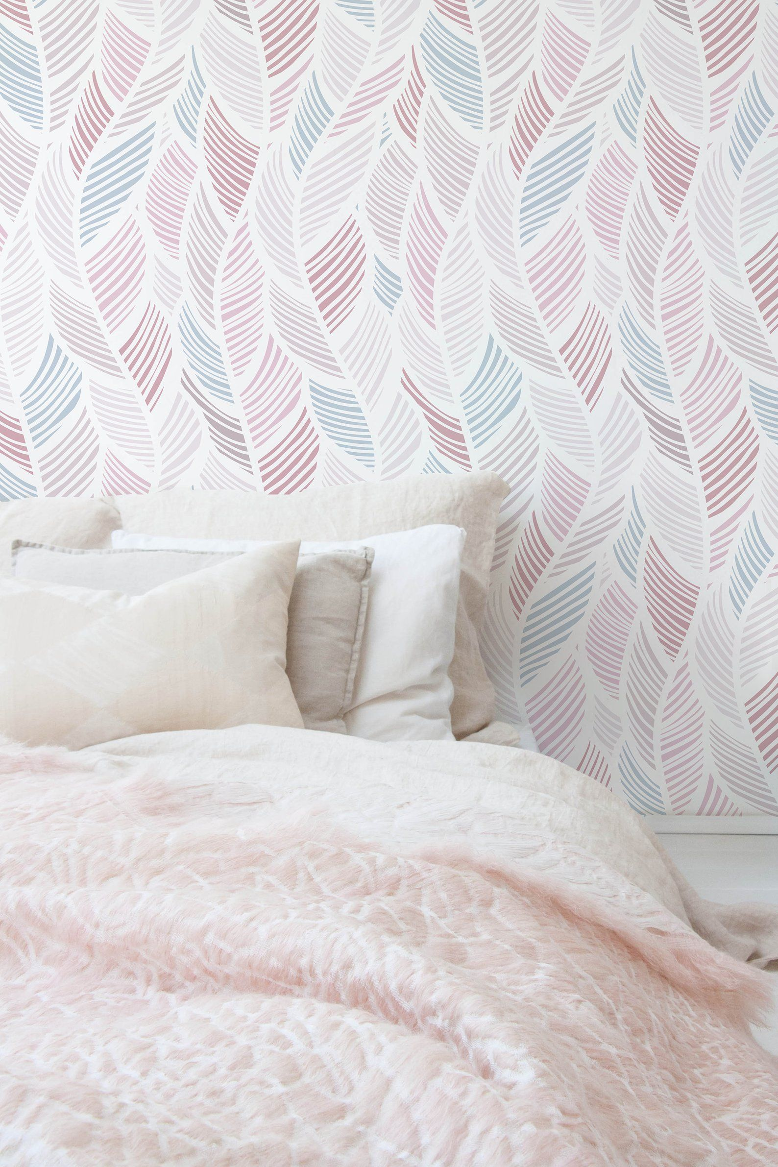 Boho Wallpaper, Boho Wall Mural, Boho Style, Peel and