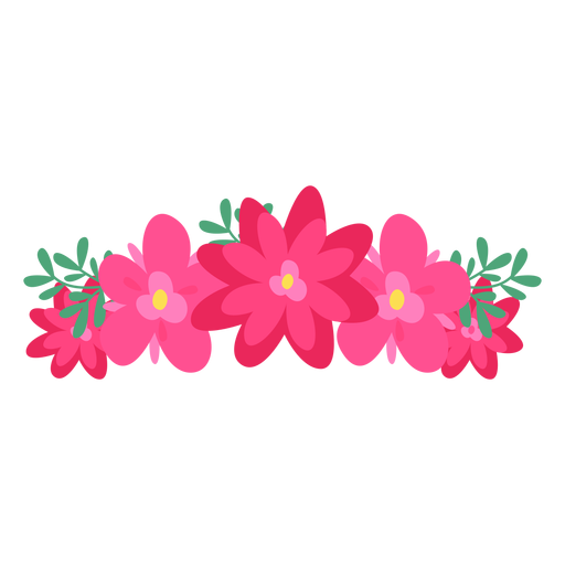 Pin By Keyla Rivera On Vectores Flower Drawing Red Flower Crown Art Drawings Simple