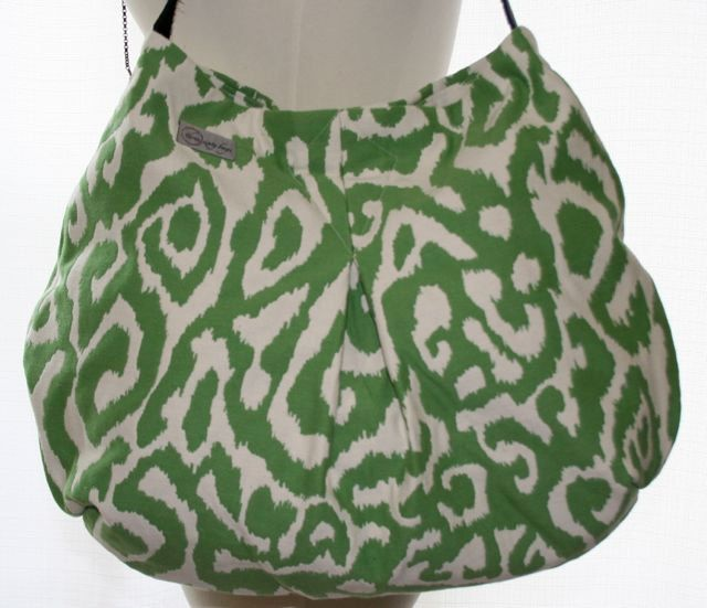 Jenn Bag - Green Ikat. $69.00, via Etsy.