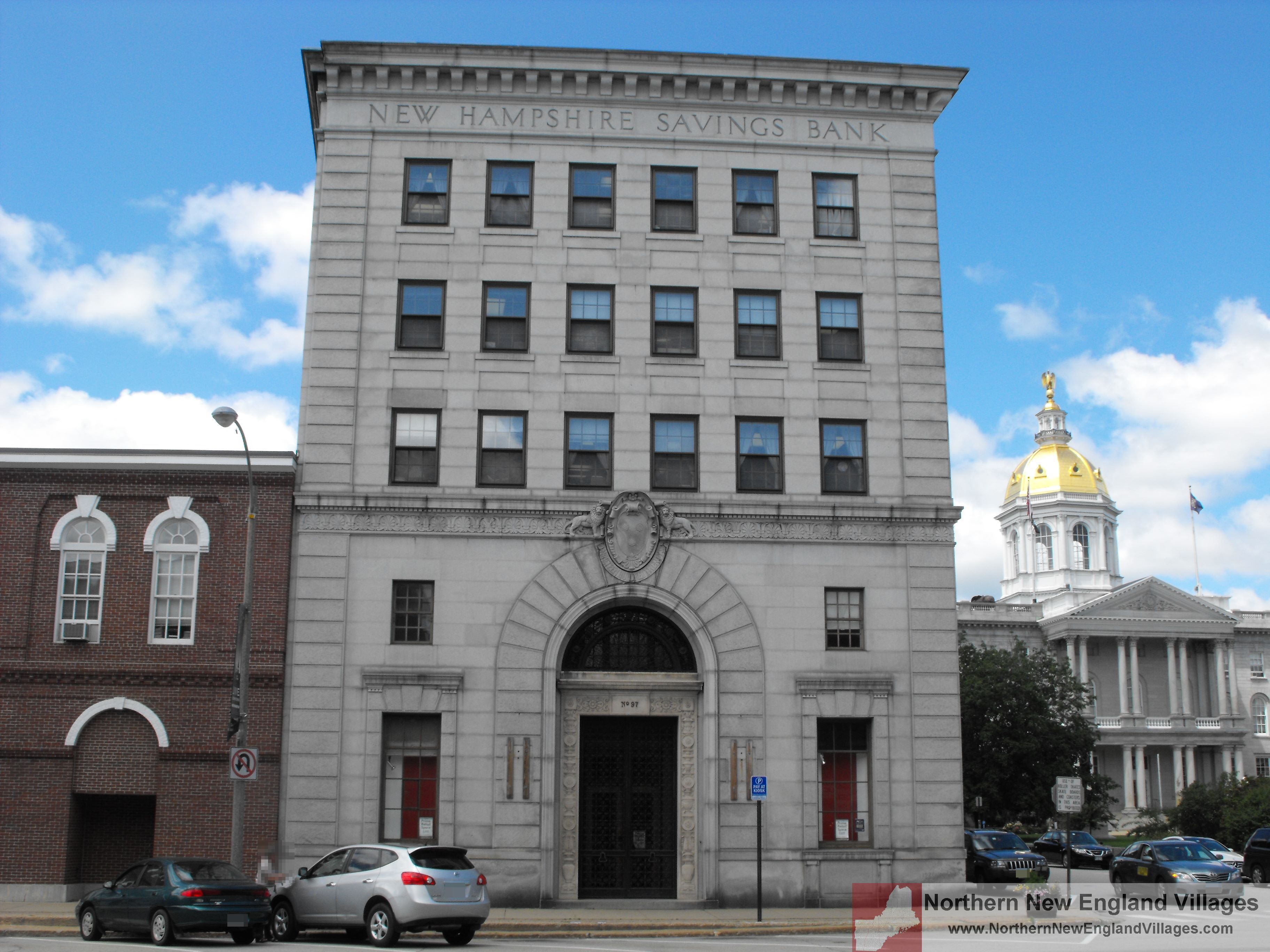 Banks Concord Nh >> Picture Of New Hampshire Savings Bank Building In Concord