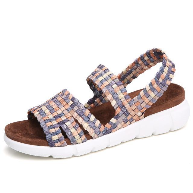 742572a8e2c2 Fashion Summer Women s Flat Sandals - Bronze