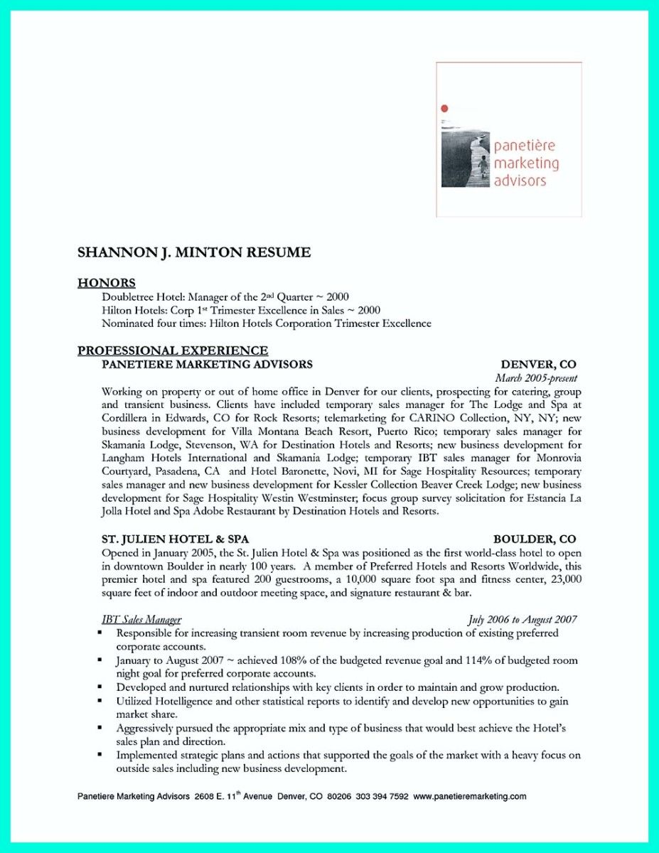 nice Attractive but Simple Catering Manager Resume Tricks, | resume ...