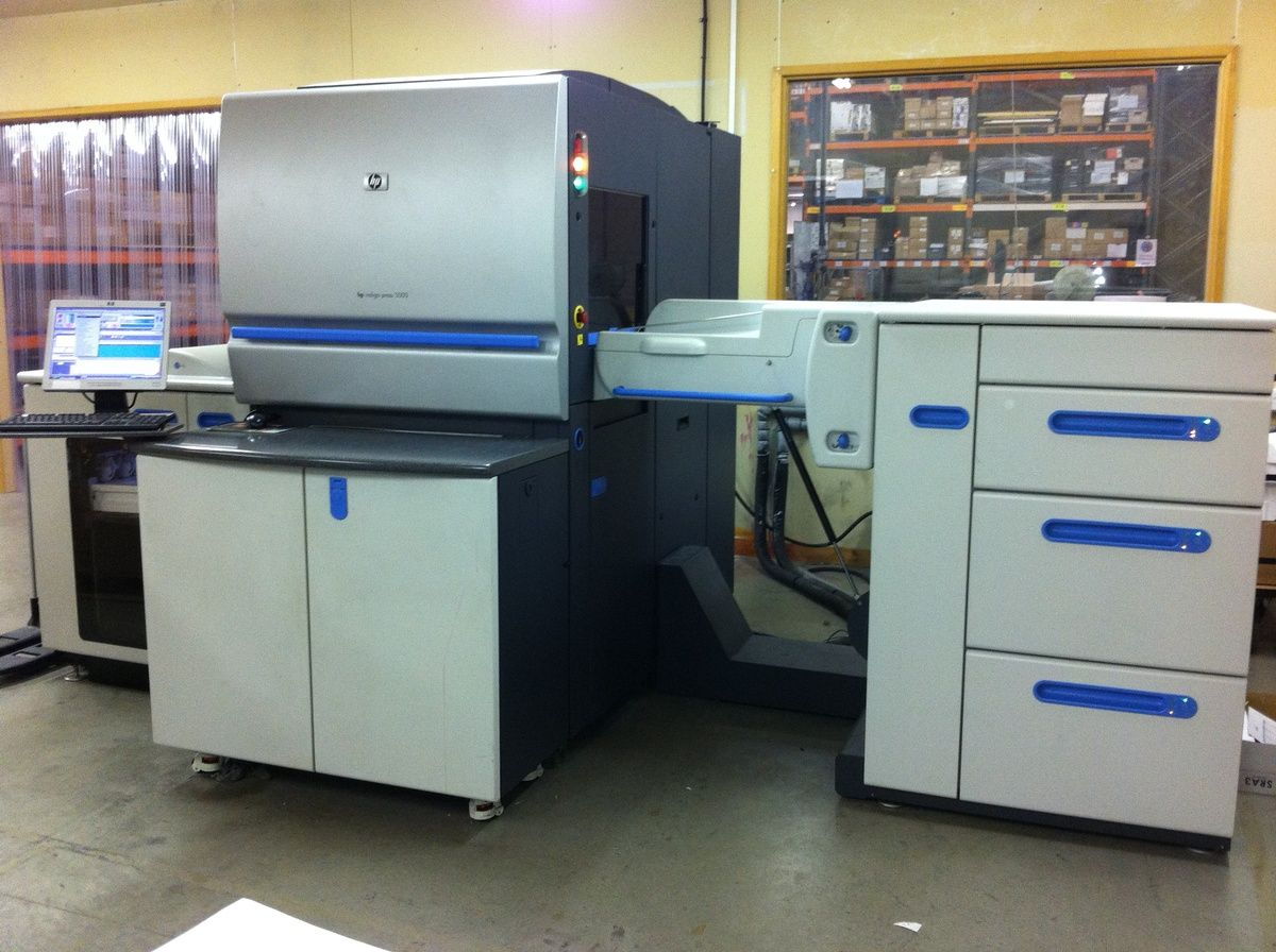 hp indigo 5000 digital press