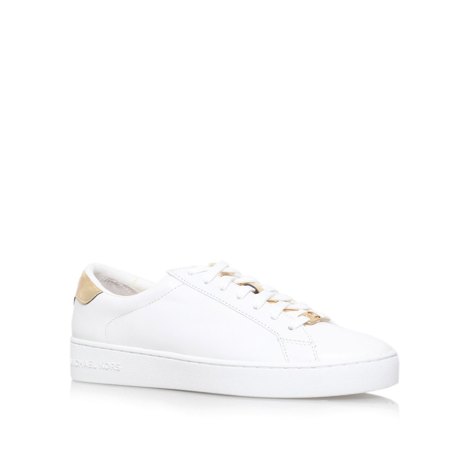 irving lace up white low top trainers from Michael Michael Kors Kurt  Geiger- £125 817f3b4aef73