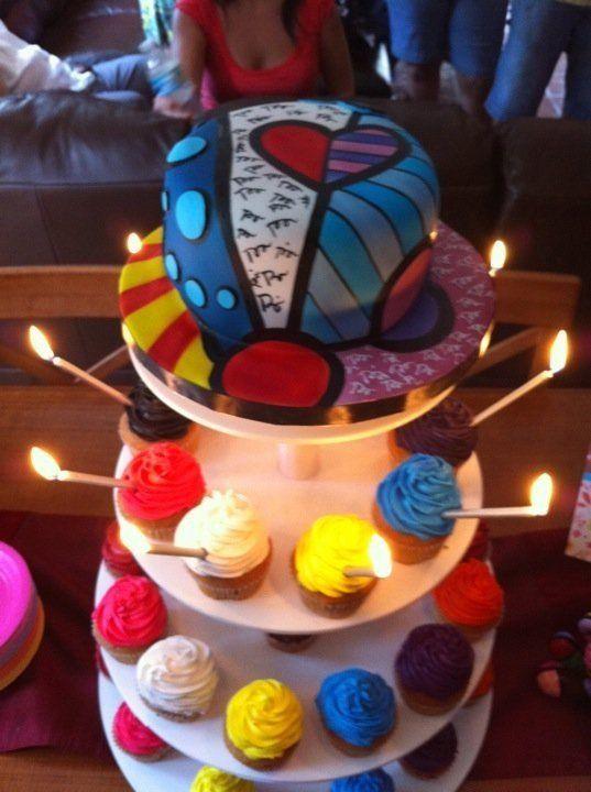 Divine Delicacies Custom Cakes Britto birthday cakes Miami FL