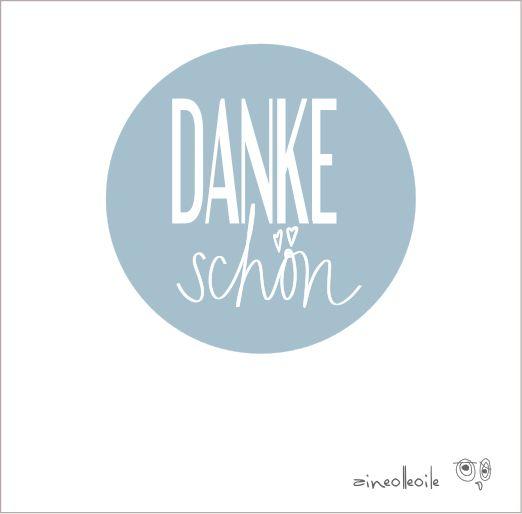 12 `DANKE schön` aufkleber | Pinterest | Aufkleber, Dawanda und Danke