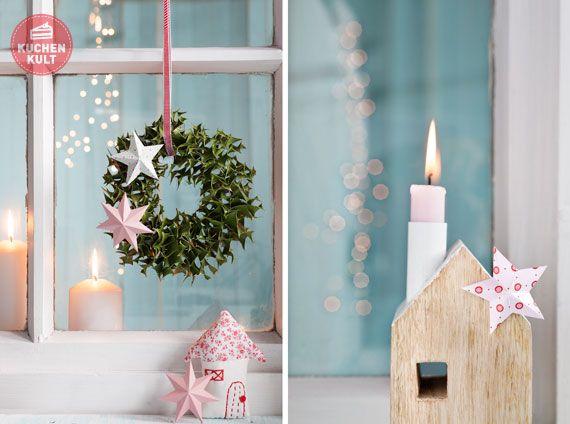 Weihnachtliche deko fur kuchen