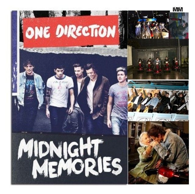 """-Midnight Memories-"" by nia-lewis ❤ liked on Polyvore featuring art"
