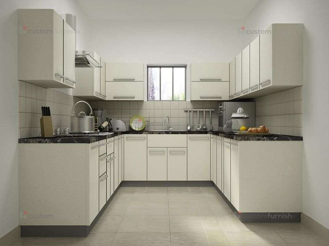 Modular kitchen design for small kitchen with price with ...