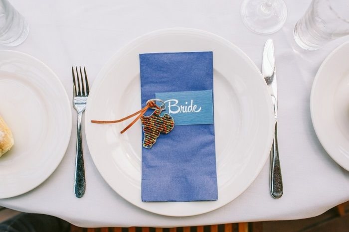Wedding place setting | itakeyou.co.uk
