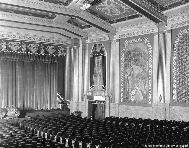 The Paramount Theatre In Lynchburg Virginia Interior View Incl