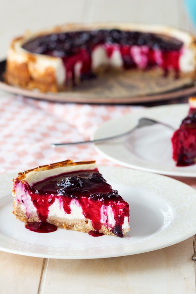 Healthy Cheesecake With Cottage Cheese Recipe Dessert