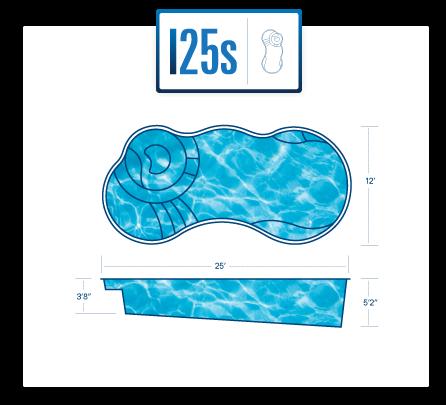 I25s Pool Diagram Fiberglass Pools Inground Fiberglass Pools Inground Pool Pricing