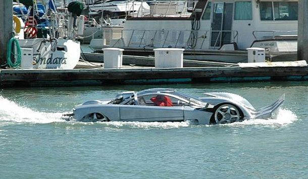 Amphibious Car Boat for Sale   Boat or Car? World's fastest ...