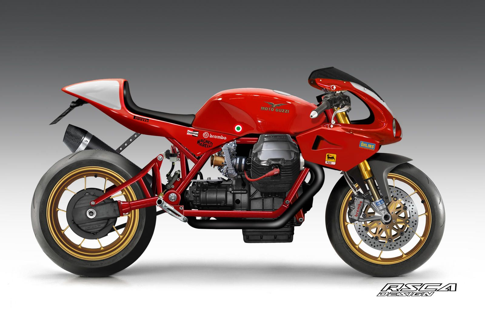 Moto Guzzi By Rsca3215 On Deviantart In 2021 Cafe Racer Moto Moto Guzzi Cafe Racer Moto Guzzi Motorcycles