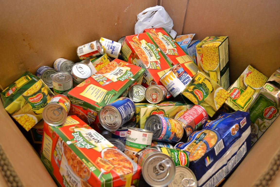 Non Perishable Food Boxes Gifts For Our Neighbors That