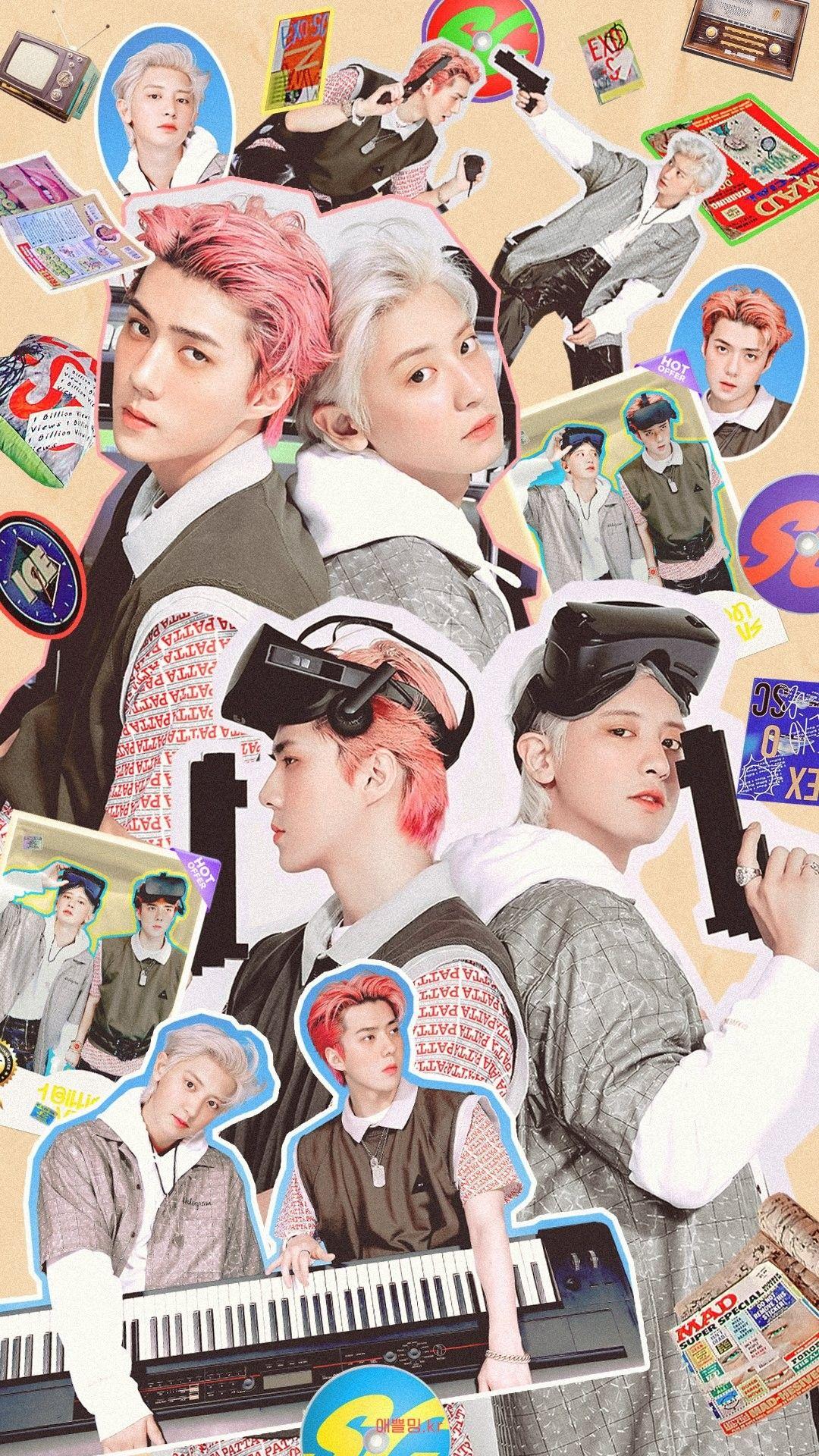 Aming Exo In 2020 Exo Kokobop Exo Logo Wallpapers Exo