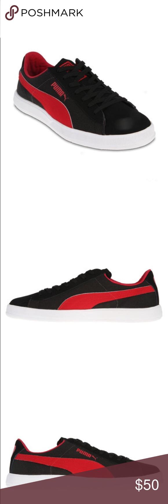 167c5375252 Puma Archive Lite Low Mix Red Black Sneakers NIB! Puma Archive Lite Low