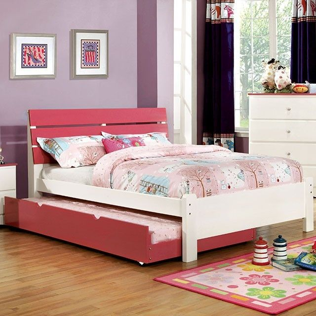 Kimmel 4 Pcs Twin Bedroom Set With Trundle Cm7626Pkt  Twin Custom Twin Bedroom Sets Decorating Inspiration