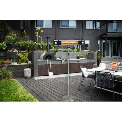 Lava Heat Mount and Stand Commercial Electric Patio Heater with ...