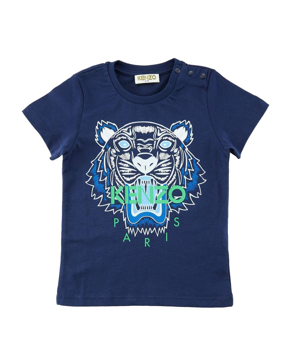44bb4cad Kenzo Short-Sleeve Logo Tiger Tee, Size 6-18 Months | Products ...
