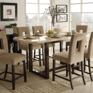 Bar Height Dining Room Table Set  Httpbehoovenpress Gorgeous High Dining Room Table Design Ideas