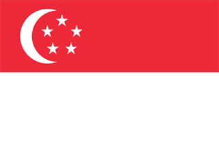 Flag of Singapore - Monster Thinks