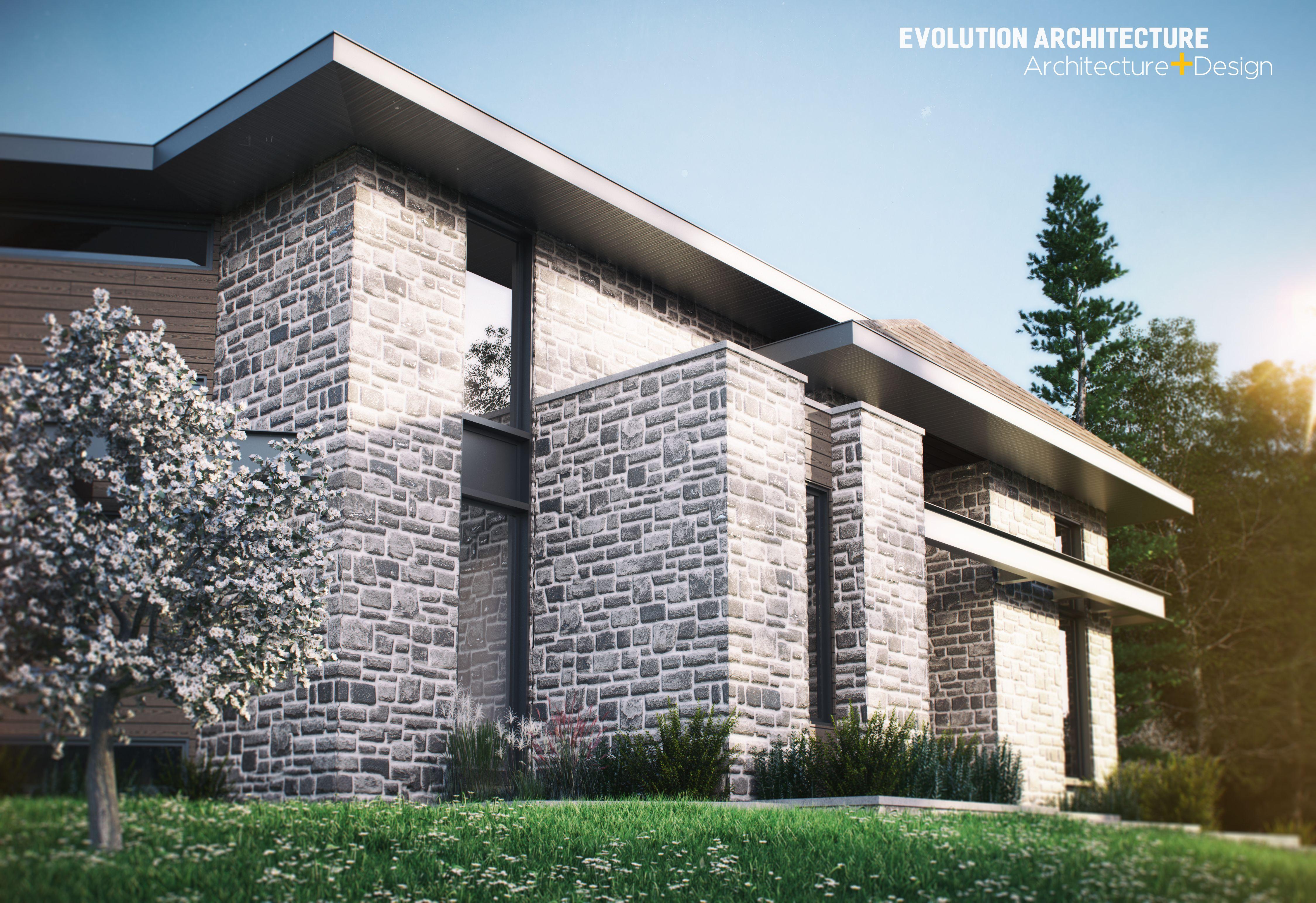architecturemaison contemporaine cration exclusive e 970 moderne design - Plan Maison Architecte Design