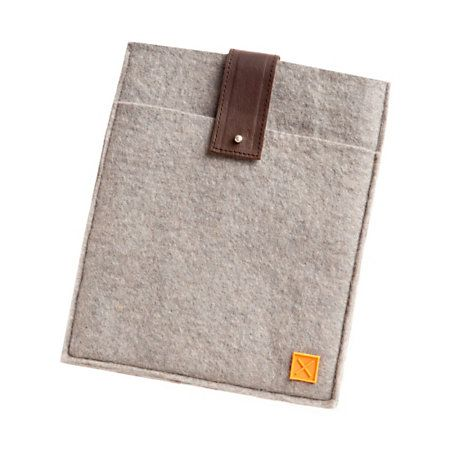 Given Goods Company | Felt + Leather iPad Sleeve by Mulxiply | The marketplace for products that give back