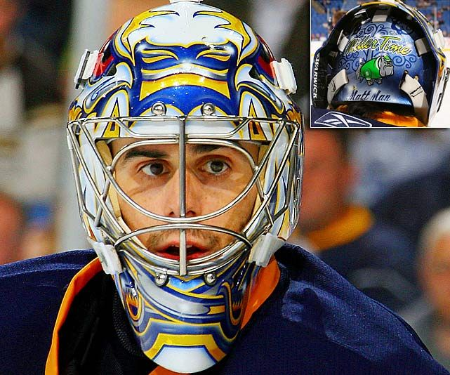 NHL Goalie Masks by Team | ... Buffalo Sabres - NHL Goalie Masks by Team (2010-11) - Photos - SI.com