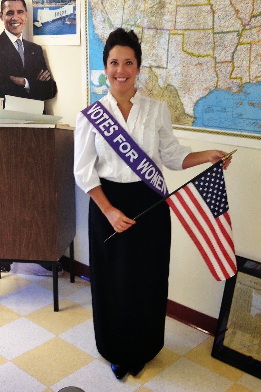 Susan B Anthony costume | Elementary Wax museum | Pinterest ...