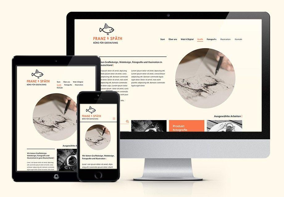 Webdesign Franz and Späth - Büro für Gestaltung