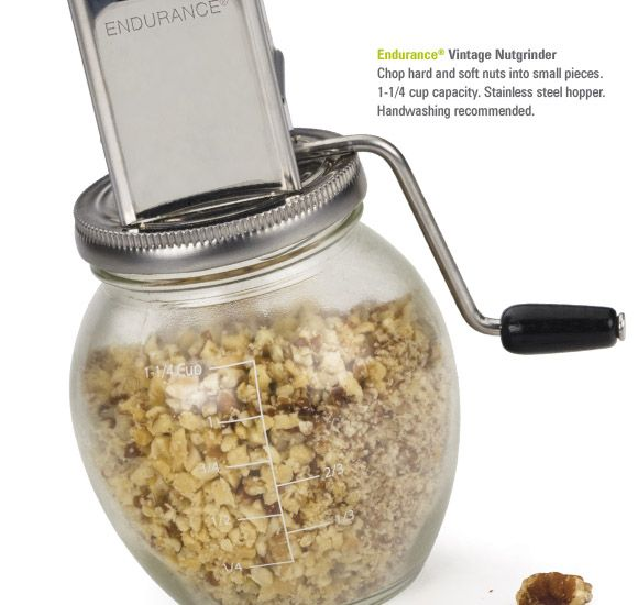 Vintage Nut Grinder.