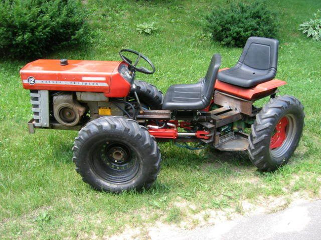 lawn tractor dual wheels Massey 10 Articulated – Articulated Garden Tractor Plans