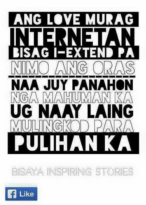 Hugot Funny Love Quotes : Gugmang HUGOT! BISAYA quotable quotes Pinterest