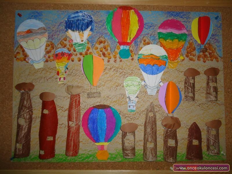 Kapadokya Peri Bacalari Manzarasi Once Okul Oncesi Ekibi Forum
