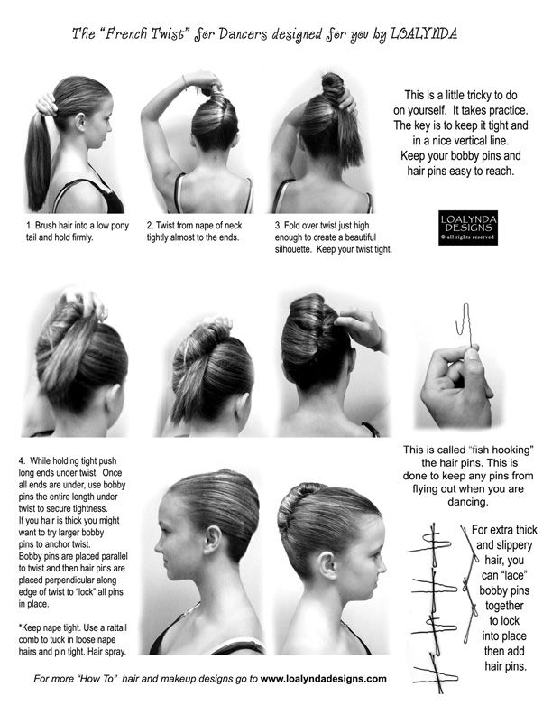 French twist for dancers i would love to try this this on my french twist for dancers i would love to try this this on my daughter but solutioingenieria Image collections
