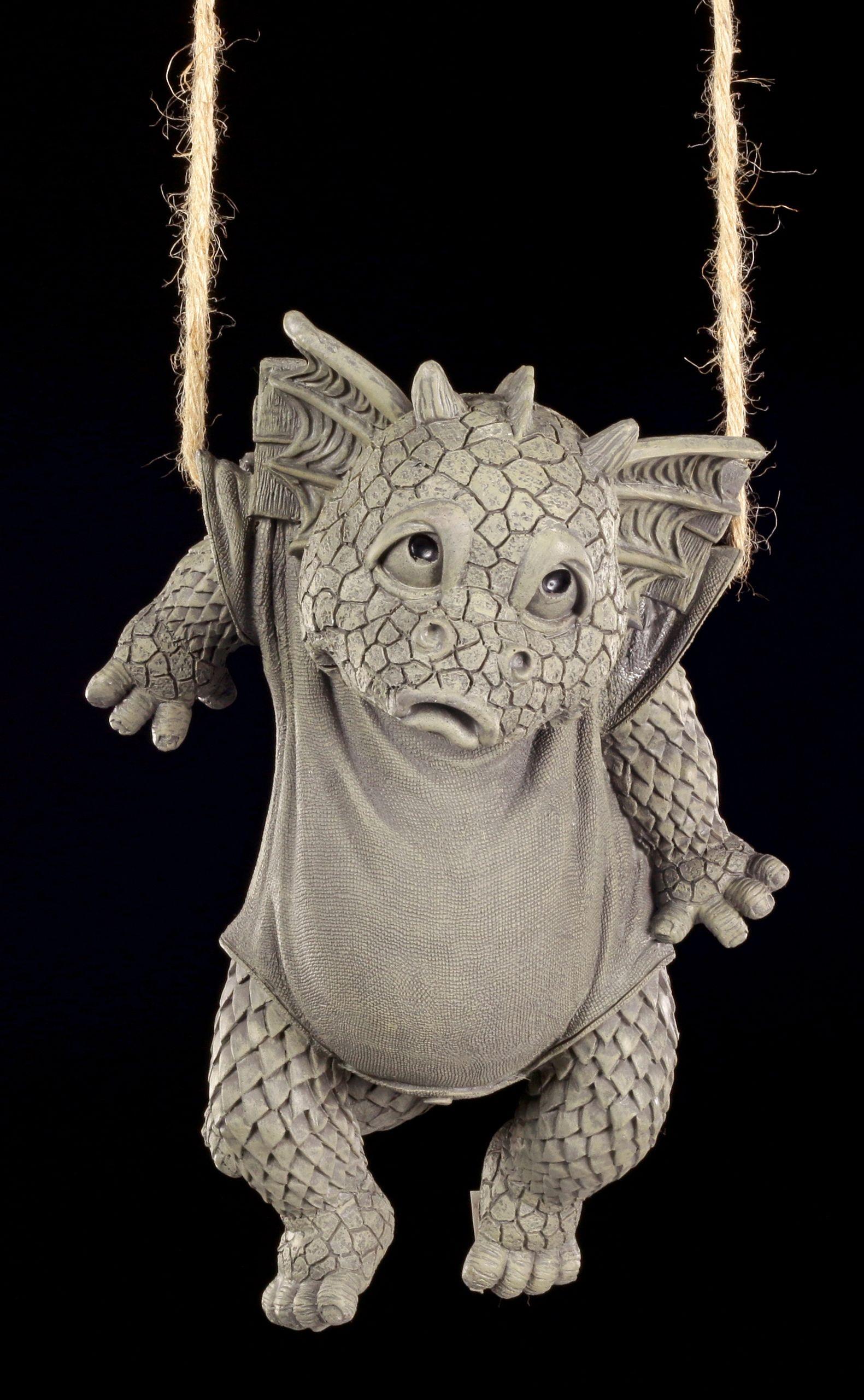 Drachen Gartenfigur Waschtag Drachen Figur Gartenfiguren