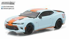 Greenlight 2016 Chevrolet Camaro SS Gulf Racing Hobby Exclusive 1:64