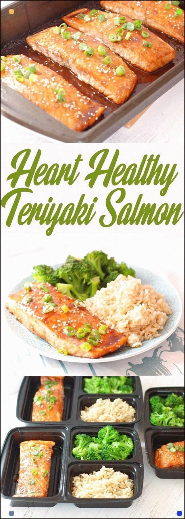 Heart Healthy Teriyaki Salmon - Made With Wild-Caught Salmon Oven-Baked With A Simple Teriyaki Glaze, And Served With Classic Brown Rice And Broccoli - A Tasty And Healthy Dinner The Family Will Love #Eatgoodfeelgood #Salmon #Healthy #Dinner #teriyakisalmon Heart Healthy Teriyaki Salmon - Made With Wild-Caught Salmon Oven-Baked With A Simple Teriyaki Glaze, And Served With Classic Brown Rice And Broccoli - A Tasty And Healthy Dinner The Family Will Love #Eatgoodfeelgood #Salmon #Healthy #Dinner #teriyakisalmon