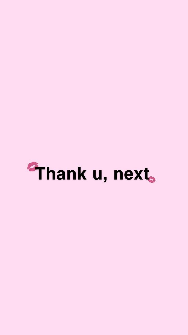 Wallpaper Thank U Next By Danna Gg Cytaty Na Tapetę