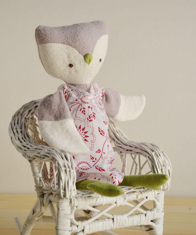 so sweet: Lucy Owl by Hazel Village