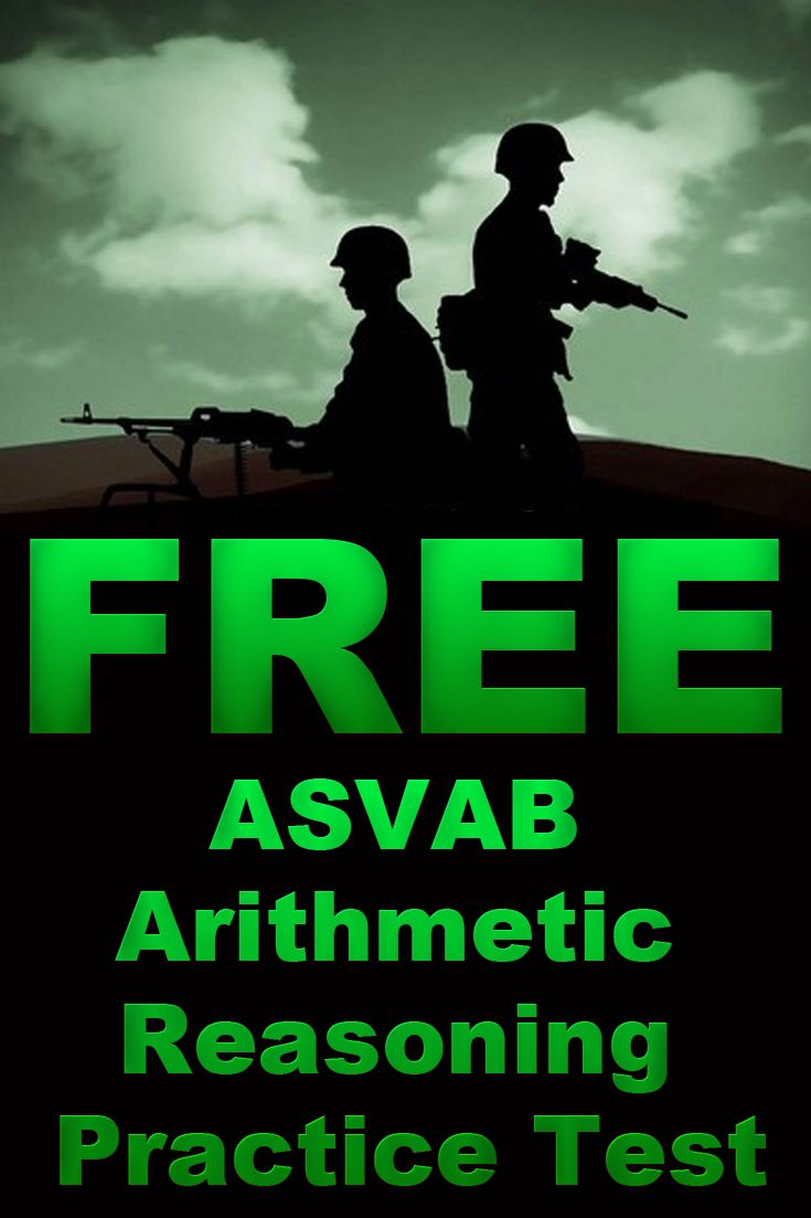 Free ASVAB Arithmetic Reasoning Practice Test http://www.mometrix.com/