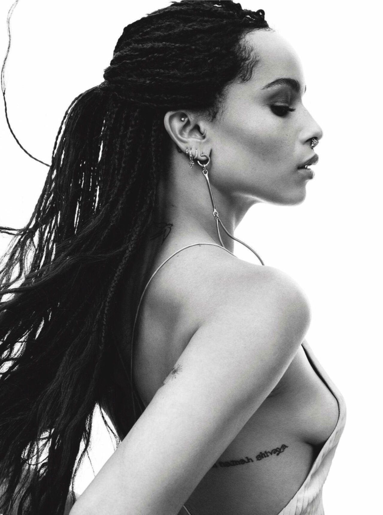 Zoë kravitz for c magazine 2015