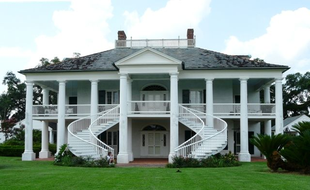 Evergreen plantation this was originally built as a creole for Old style homes built new