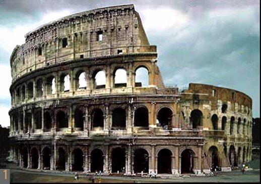 Coliseo Romano El Arte De Los Antiguos Imperios Rom Geschichte