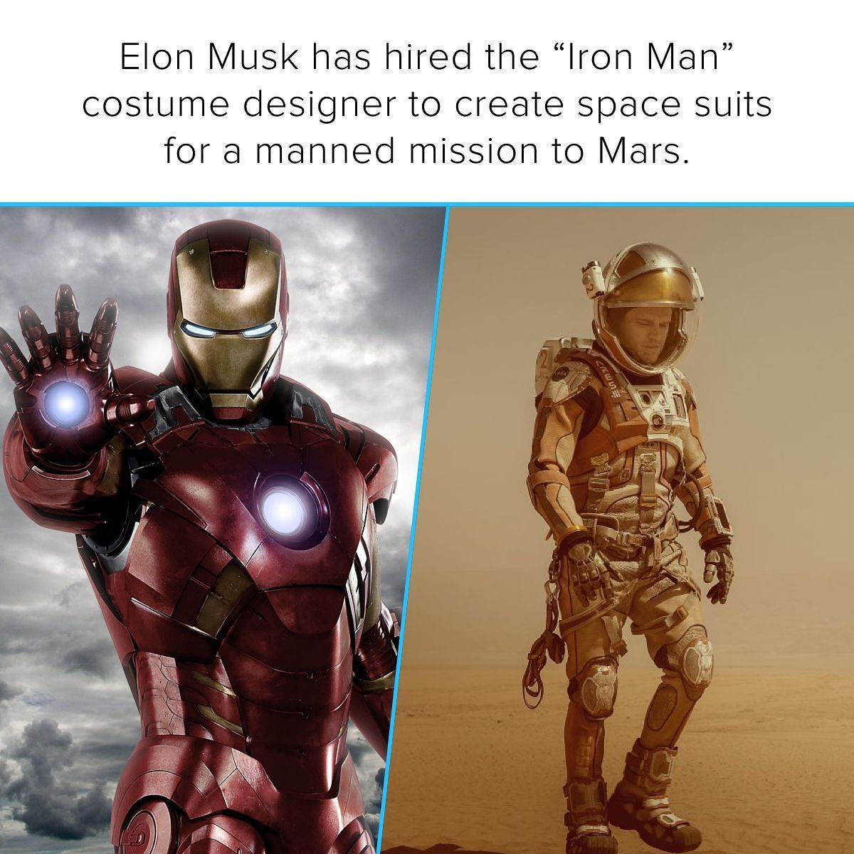 Elon Musk wants the first humans on Mars to look badass so ...